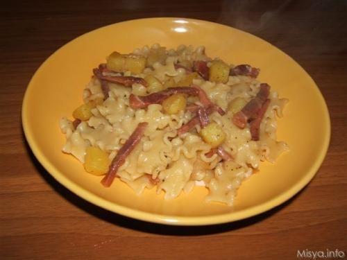 » Reginette speck e patate Ricette di Misya - Ricetta Reginette speck e patate di Misya