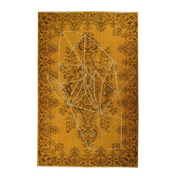 The unique carpet SURAVA  is finished: a creative combination of original and new design.