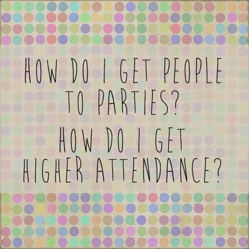 Our top two suggestions… ready? Here they are:  #1: Have your hostess invite her friends personally. Coach her to send each and every person she's invited a private message about her event. (No mass messages!) Tell her to include the link to the event in that message!! People will not take the time to RSVP by searching their Events for her party, but they will click on a link she's shared and RSVP.   #2: Bribe your hostess. Really, her job is to get her people there, right? Tell her that ...