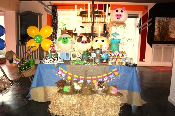 La granja infantil fiestas de cumplea os pinterest - Fiesta cumpleanos infantil en casa ...