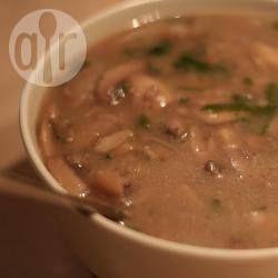 Perfecte champignonsaus voor bij de kalkoen