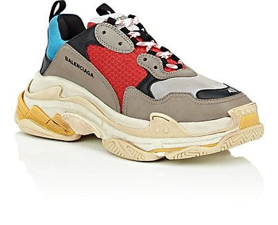 3aacbeb840ae This chunky sneaker from Balenciaga started the