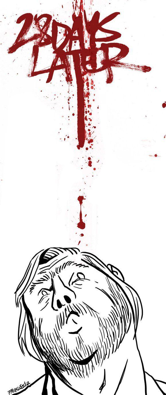 28 Days Later - movie poster - Miklós Felvidéki