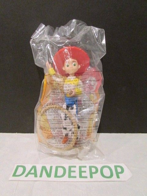 McDonald's Happy Meal Toy Story 2 Disney Pixar Jessie Cowgirl  #8 1999 #Disney #Jessie #Cowgirl #Toystory2 #McDonalds #happymeal #dandeepop Find me at dandeepop.com