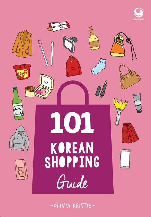 """101 Korean Shopping Guide"" Olivia Kristie #buku #sewabuku #perpustakaan"