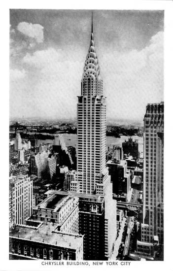New York Architecture Images- Chrysler Building...Don't really want to go inside, I just want to see it.