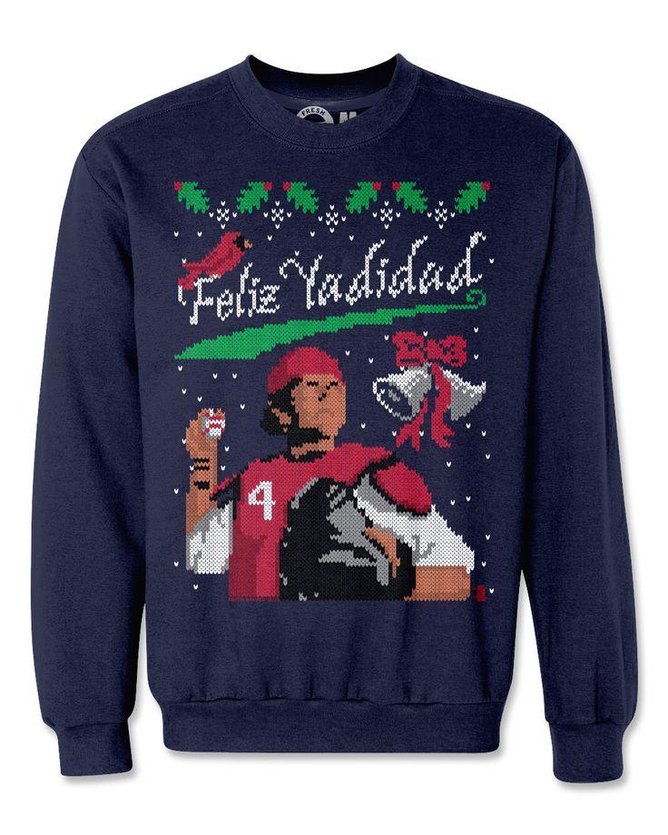 Yadier Molina Yadidad Ugly Christmas Sweatshirt