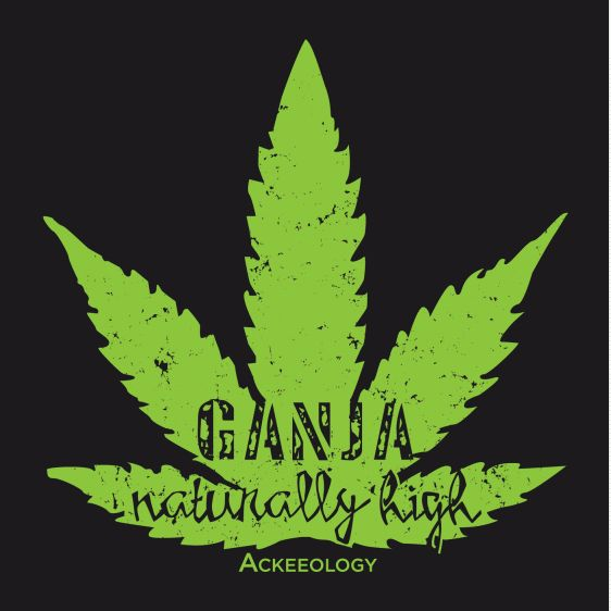 GANJA. In case you didn't know Ganja is actually a Sanskrit term for one of Jamaica's magical export. No matter what you call it… marijuana, pot, grass, weed, herb or Ganja, just wear it, feel good and be naturally high. Contoured fit men's t-shirt available in black, brown and white. #Jamaican