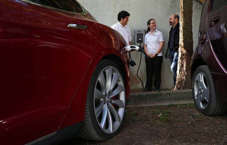 SPARK: Gabriel and Kymberley Noronha of Recharging NSW with Tesla vehicle owner…