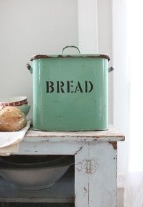 Bread Box ( I actually would keep my cash in this just because it sounds so hip slick and cool and foolish :)