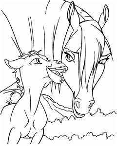 Image Search Results For Spirit Color Page Horse Coloring PagesKids ColoringFree