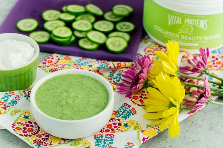DIY Cucumber Face Mask This easy DIY cucumber face mask is perfect for dry skin or skin that just needs a little moisturizing.