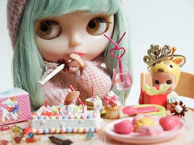 blythe doll birthday party
