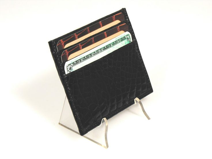 LEATHER CREDIT CARDS HOLDER MADE IN ITALY
