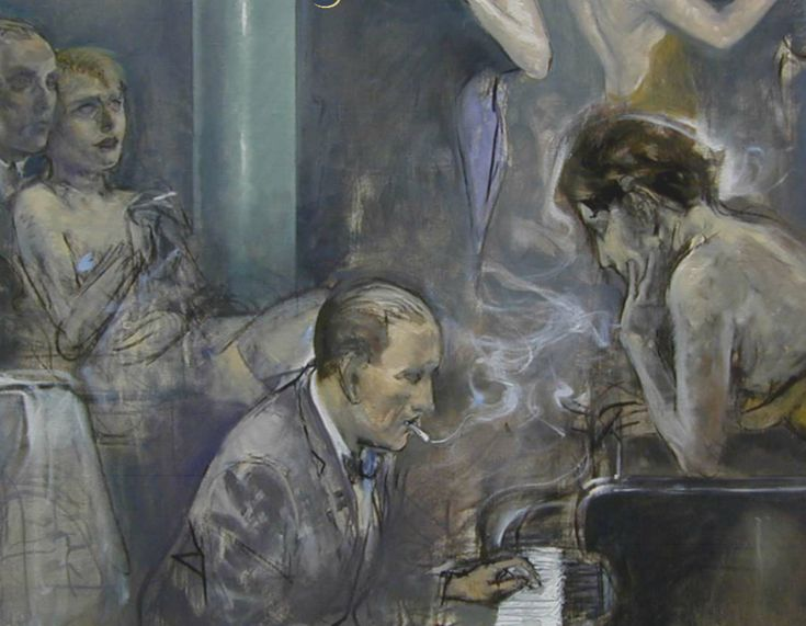 Alberto Sughi (1928-2012, Italy; realism, expressionism)