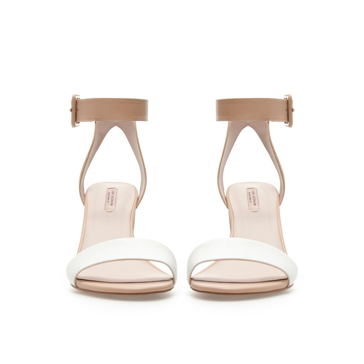 MID-HEEL SANDALS...would be very cute with a white dressy but casual romper
