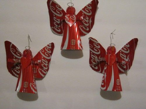Best 25 coke can crafts ideas on pinterest soda can art for Aluminium decoration