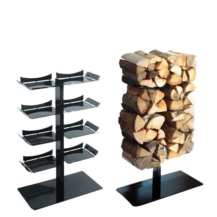 Radius Kaminholzständer Stand schwarz klein Firewood Tree - 730 a Feuer & Grill Kamin Zubehör Holzlegen & Holzkörbe