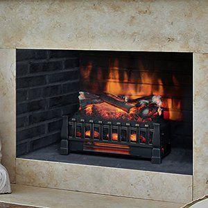 Duraflame 20-Inch Infrared Electric Fireplace Insert/Log Set - DFI030ARU