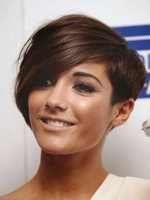 Maneras de llevar el pelo corto con flequillo otoño 2014