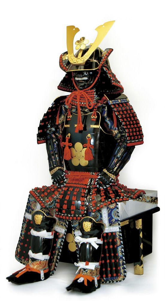 鎧の光山堂 / 赤糸威黒伊予札素懸子供着用鎧