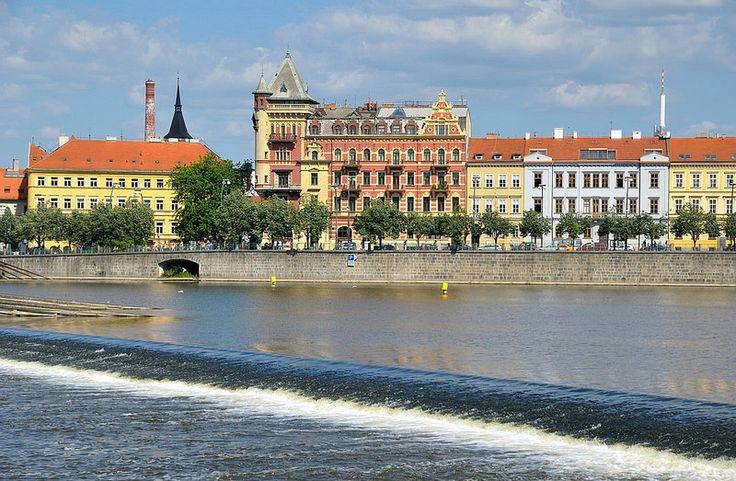 Prague : View from Kampa museum