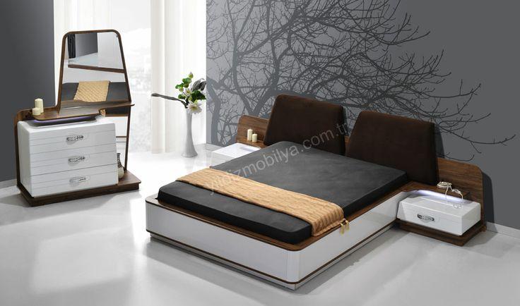 Helena Yatak Odası  #bed #bedroom #avangarde #modern #pinterest #yildizmobilya #furniture #room #home #ev #young #decoration #moda       http://www.yildizmobilya.com.tr/