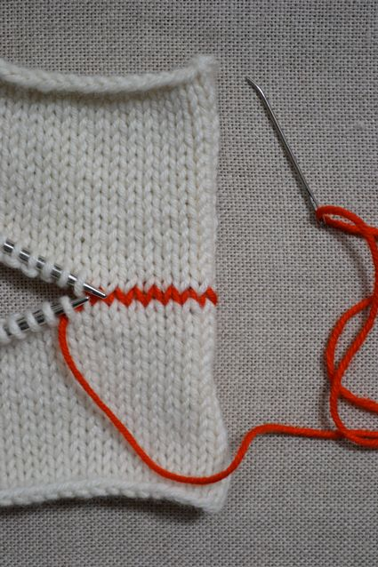 HOW TO: kitchener stitch