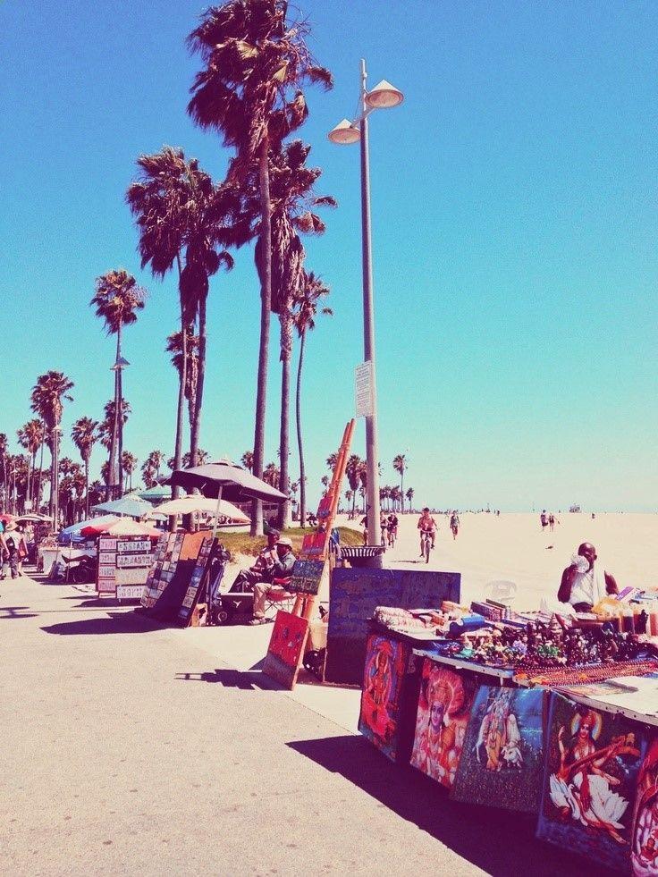 Venice Beach boardwalk, Los Angeles, California #LAeveryday