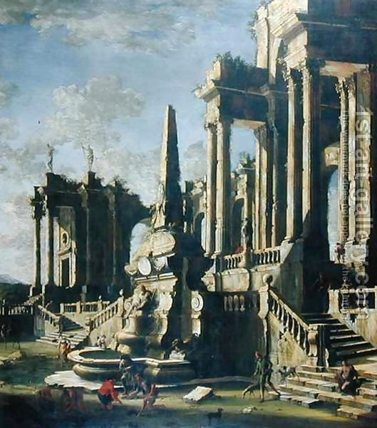 Imaginary Ruins by Leonardo Coccorante