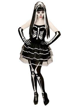 Disfraz Esqueleto Mujer  d543700f1c5