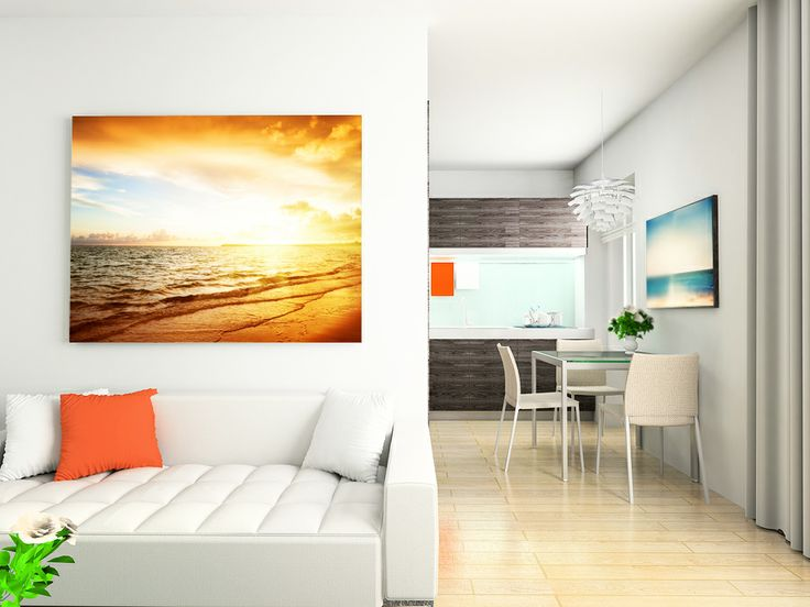 """A Landscape Photo Canvas Print 