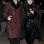 #KateMoss e #JamieHince come Morticia e Gomez Addams #Halloween #celebrity http://www.theblazonedpress.it/website/2013/10/28/i-costumi-delle-celebrita-ai-party-di-halloween/70888