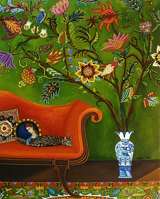 Love Catherine Nolin's work. It can be purchased on etsy.