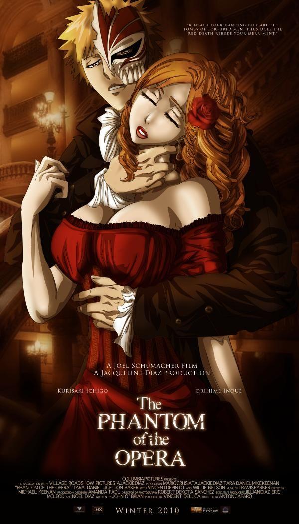 Bleach: Ichigo x Orihime - The Phantom of the Opera