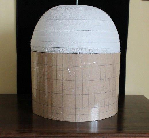 форма для плетения абажура