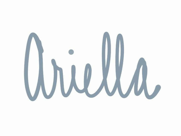 "Ariella is a feminine Hebrew variant of male name Ariel. Ariella means ""lionness of God."" See more baby name pins at http://www.pinterest.com/meggiemaye/for-love-of-names/"