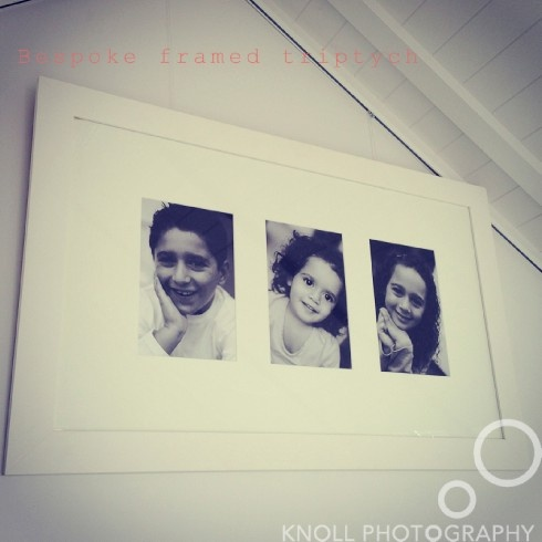 top five tips for displaying photos - the triptych frame
