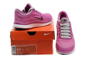 Nike Free 5.0 TR FIT 4 Women Laufschuhe black-red violet-atomic orange- 36 O667l