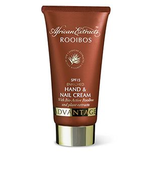 African Extracts Rooibos Skincare - Enriched Hand and Nail Cream with SPF 15 50ml [R49.99]