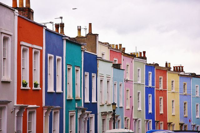 The Coloured Houses of Bristol.