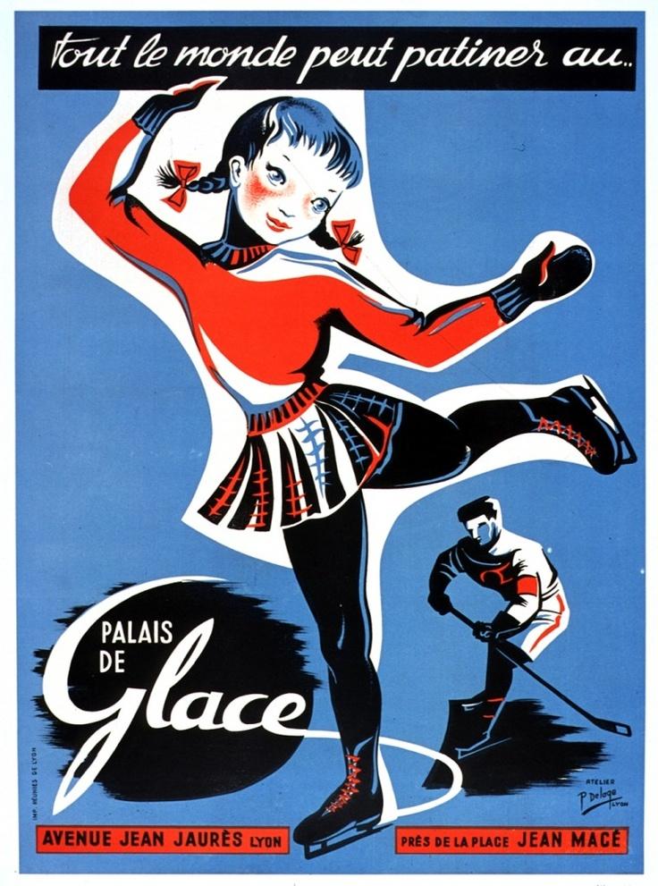 Art - Advertisement - French - Palace du glace