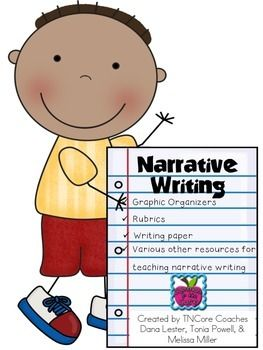 This is a collection of FREE resources, such as graphic organizers, rubrics, posters/images, & lined paper, to support narrative writing in your classroom. This product can be used along with Self-Regulated Strategy Development (SRSD) or any other writing framework you have in place. It was created by several TNCore Coaches for 1st grade, but can be adapted to fit the kindergarten-2nd grade band.