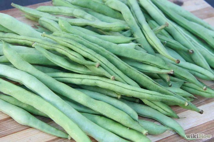 Obrázek nazván Freeze Green Beans Step 1