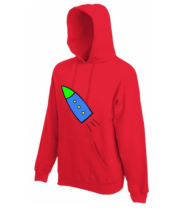 Sudadera 'Chotete' Disponible en Rojo, Azul Royal y Verde Kelly Tallas S a XXL. www.demascolores.com