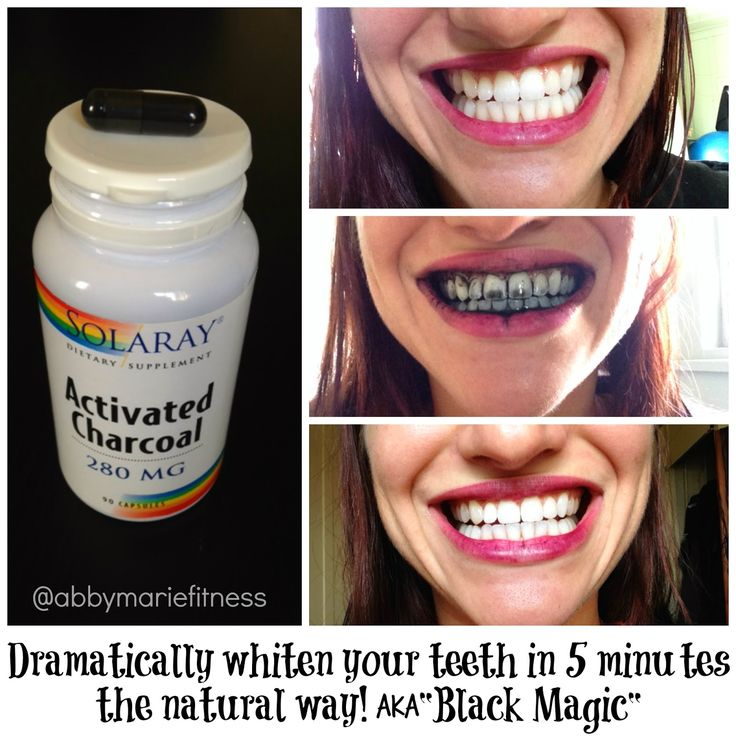 From Flab to Fab Fitness - Fitness. Food. Fun. Life. : Whiten Your Teeth in 5 Minutes with Activated Charcoal AKA BLACK MAGIC