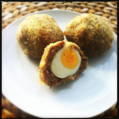 Scotch eggs.....YUM