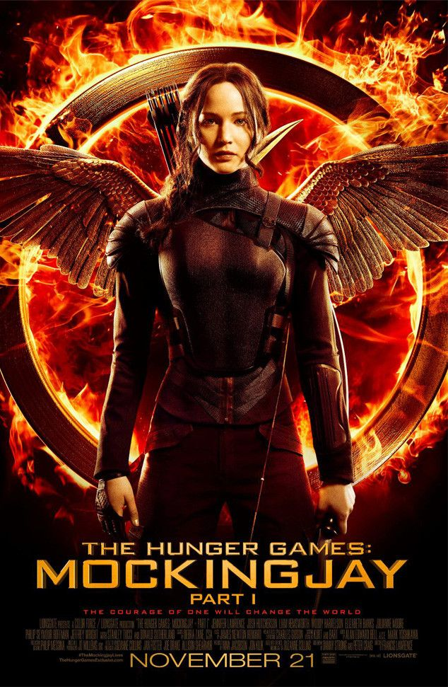 See Jennifer Lawrence's Fiery New Mockingjay Movie Poster Ahead of the Trailer Release! | E! Online Mobile