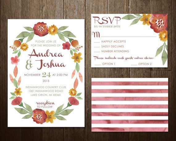 795 best Rustic Wedding Invitations images – Country Chic Wedding Invitations