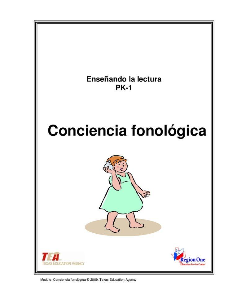 Actividades de Conciencia fonológica para la lectura Más